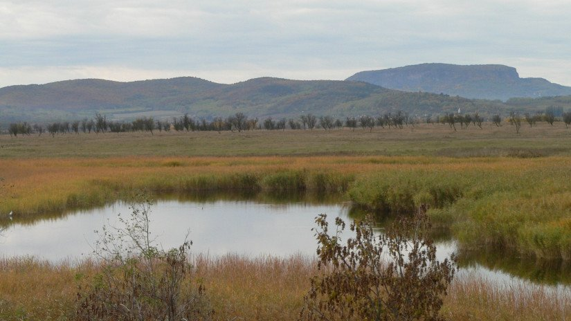 Lake Kornyi in the Káli Basin