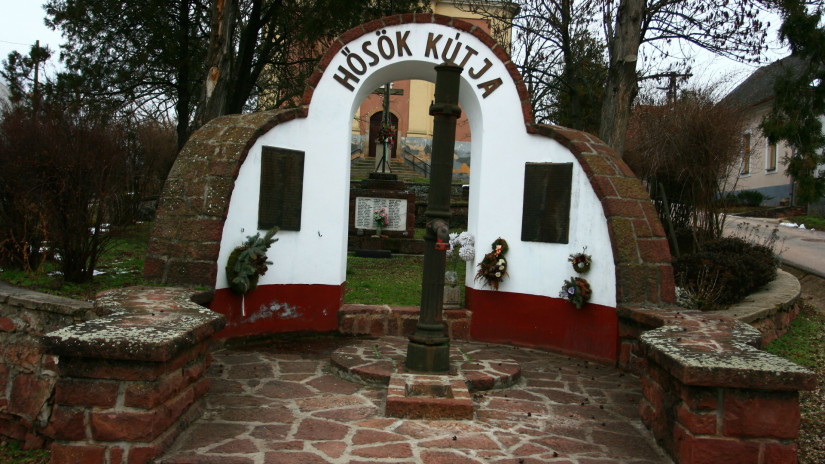 The Well of Heroes in Kővágóörs